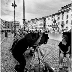 Marcello Ceraulo – Artisti in Piazza Navona