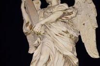 Angelo Mele – Statua con la Croce – Marmo del Bernini