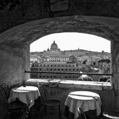 Antonella Zacchini – Vista da Castel Sant'Angelo