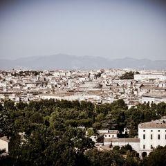 Michele Rallo – Roma, vista dal Gianicolo