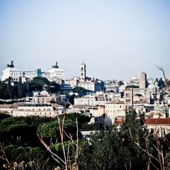 Michele Rallo – dal Giardino degli Aranci – Skyline
