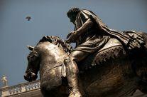 Monica Boccalini – Statua Equestre Marco Aurelio – Campidoglio