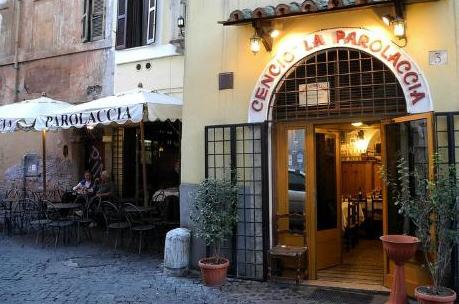 """Il ristorante La Parolaccia Cencio"""" La parolaccia in Vicolo del Cinque, 3"""