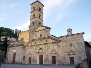 la Basilica di Santa Cristina a Bolsena