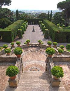 Castel Gandolfo: I Giardini della residenza papale