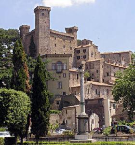 La cittadina di Bolsena