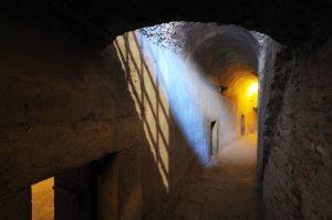Il passaggio per accedere alla prigioni di Castel Sant'Angelo