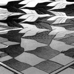 Escher al Chiostro del Bramante, Roma