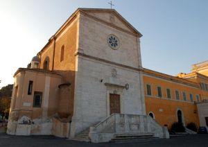 La Chiesa di San Pietro in Montorio, sulle pendici del colle Gianicolo