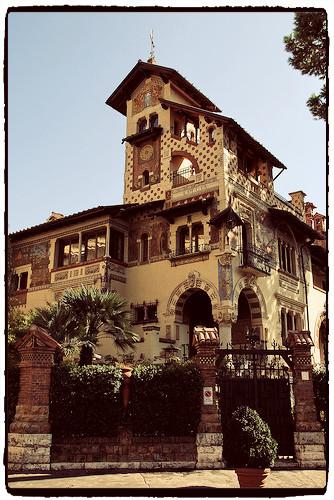 Quartiere Coppedè Roma - Casina delle Fate