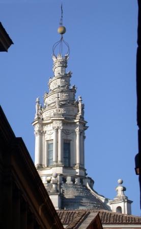 Cupola della Chiesa di S. Ivo - Palazzo della Sapienza