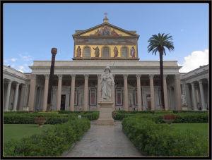 Tra le quattro Basiliche Papali: San Paolo fuori le Mura