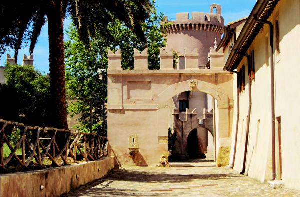 Castello di Santa Severa, interno