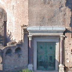 Tempio di Romolo – Foro Romano