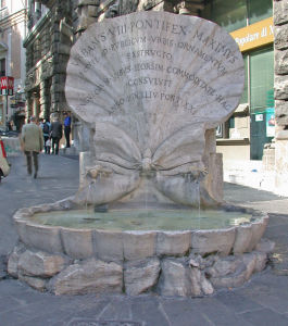 Opere del Bernini Fontana delle Api
