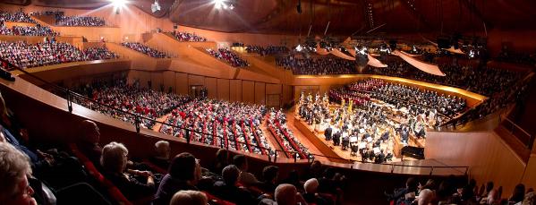 Auditorium santa cecilia pro loco di roma pro loco di roma for Auditorium parco della musica sala santa cecilia