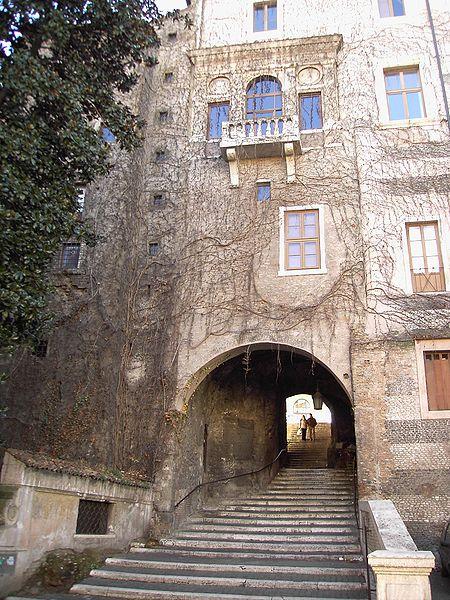 La Salita dei Borgia - Balcone di Vannozza Cattanei