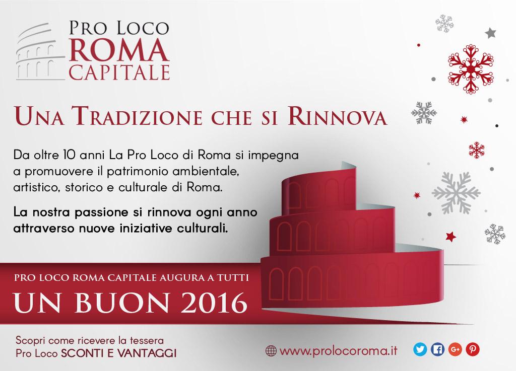 Auguri Pro Loco di Roma 2016