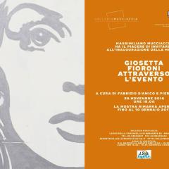 Giosetta Fioroni. Attraverso l'evento