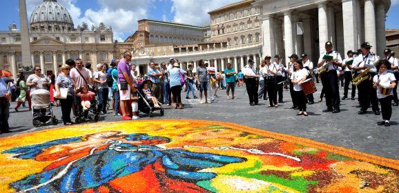 Infiorata Storica di Roma – VII Edizione