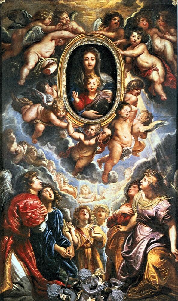 Il meccanismo della Madonna della Vallicella rubens