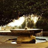 La Fontana con la Palla di Cannone