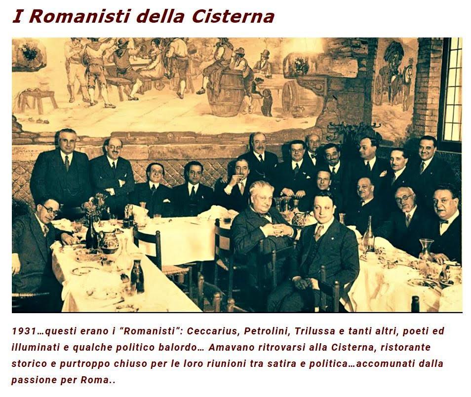 i romanisti della cisterna storie di roma pro loco roma