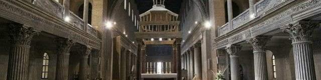 I due architetti della Basilica di San Lorenzo fuori le mura