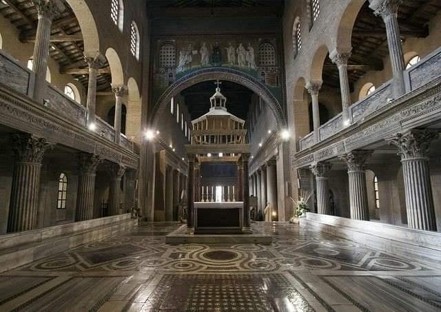 architetti della Basilica di San Lorenzo fuori le mura pro loco roma