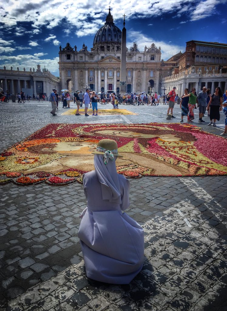 l'Infiorata Storica di Roma