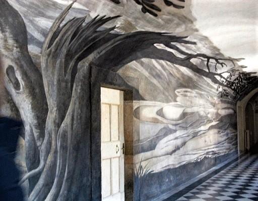 Anamorfosi del Convento di Trinità dei Monti