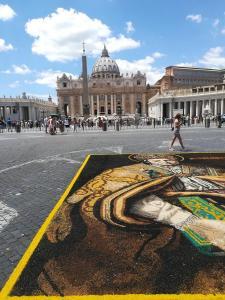 Infiorata storica di Roma 2018