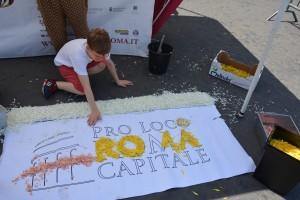 Infiorata Roma - l'Infiorata dei piccoli