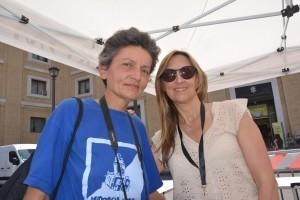 Infiorata Roma 2016 - Agnes del gruppo Poggiomoiano e Lucia Rosi
