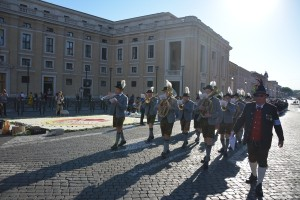 Infiorata Roma 2016 - banda musicale