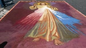 Infiorata Roma 2016 - il Gesù di Poggiomoiano