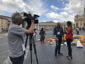 Intervista al responsabile della Comunicazione di Pro Loco Roma, Mauro Abbondanza, con l'emittente TV2000