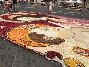il tappeto di Aprilia